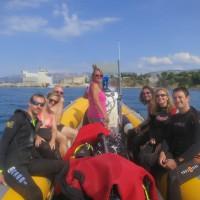 Baptême de plongée à Toulon