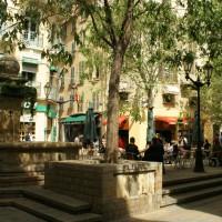 Fontaine de la place Camille Ledeau à Toulon