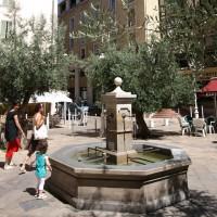 Le circuit des fontaines à Toulon