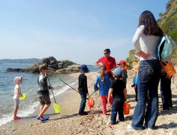 Sortie guidée pour les enfants à Toulon les petits explorateurs