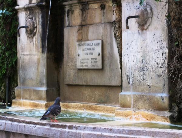 Fontaine place Puget à Toulon
