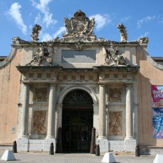 Vue extérieure du musée de la Marine à Toulon