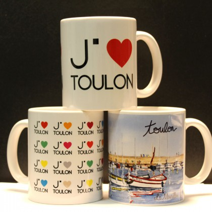 Boutique Office de Tourisme de Toulon mugs