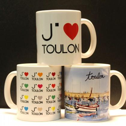 Boutique Office de Tourisme de Toulon mugs