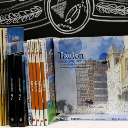 Boutique en ligne Toulon Tourisme librairie Toulon découvre son patrimoine recto