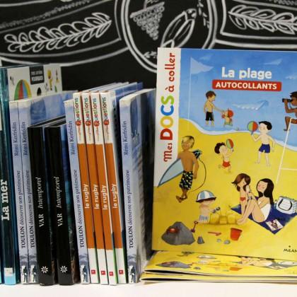 Boutique en ligne Toulon Tourisme librairie La plage recto