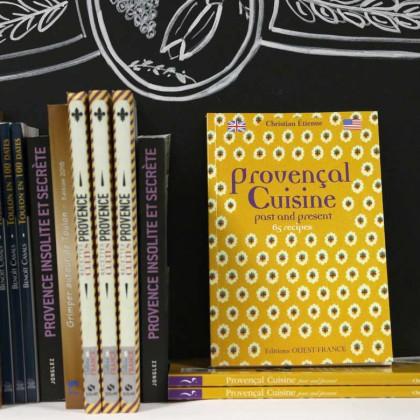 Boutique en ligne Toulon Tourisme librairie Provençal cuisine recto