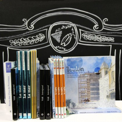 Boutique en ligne Toulon Tourisme librairie Toulon découvre son patrimoine