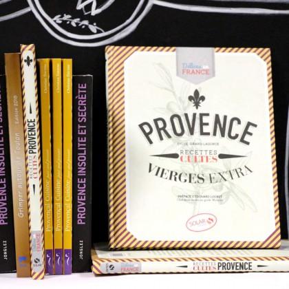Boutique en ligne Toulon Tourisme librairie Recettes cultes de Provence recto