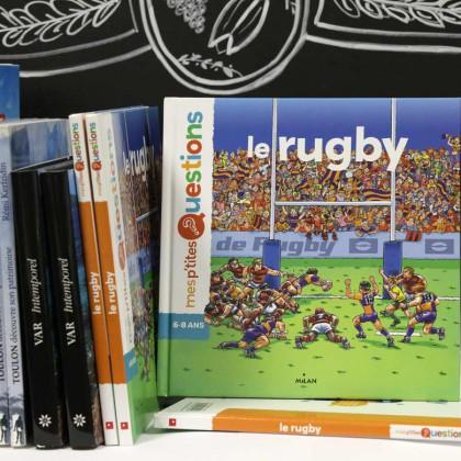 Boutique en ligne Toulon Tourisme librairie Le rugby recto
