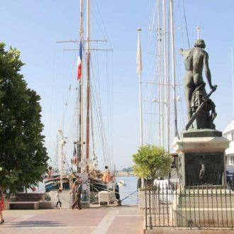 Le génie de la navigation, port de Toulon