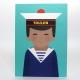 Affiche Portrait Marin - Illustration Off Toulon