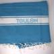 Fouta bleue Off Toulon