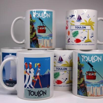 Les mugs de Toulon