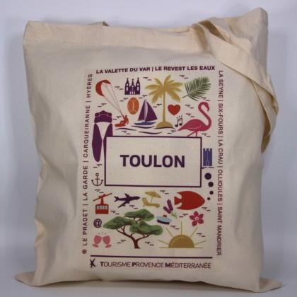 Tote bag Toulon Tourisme