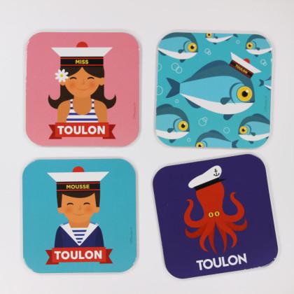 Sous-verres Off Toulon