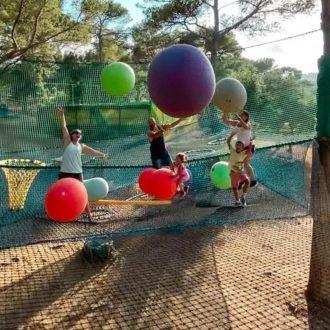 Qui n'a jamais joué au ballon dans les arbres ?...